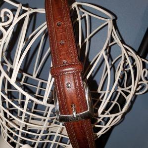 Men's Brighton Leather Belt size 38